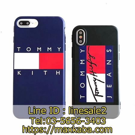 TOMMY JEANS iPhoneX/XS Maxカバー ソフト
