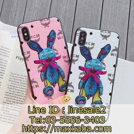 MCM Rabbit Visetos iPhone11pro ケース