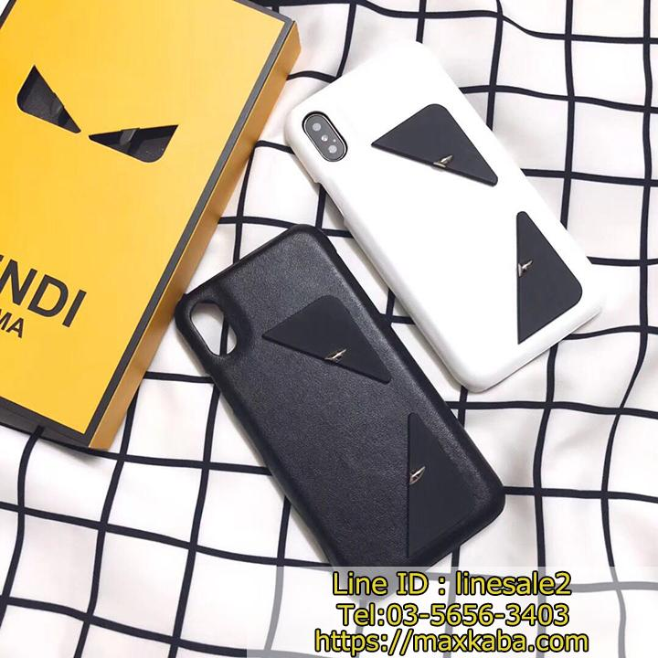 fendi logo iphone case