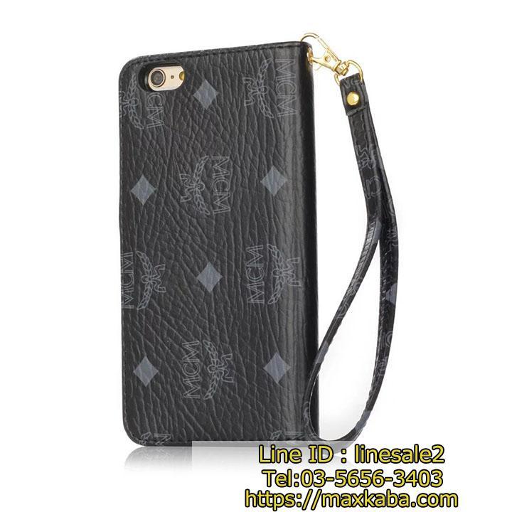 ブランドMCM iPhone8/8 plus 手帳型 スマホケース