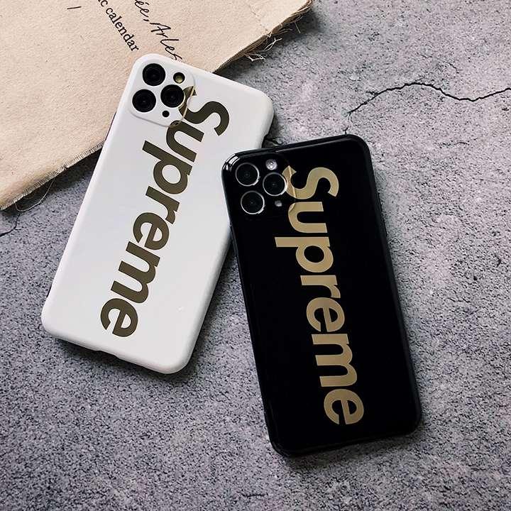 Supreme iPhone12/12proケース メッキ IMD製品 2スタイル かっこいい シュプリーム  iphone11/11proスマホケース 四角保護 手触り良い 定番柄 今買ったら送料無料です