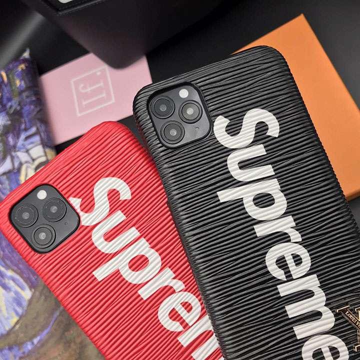 シュプリーム Louis Vuitton コラボ iphone12proスマホケース セレブ風 iphone12携帯ケース 芸能人愛用 高品質 Supreme アイフォン12pro max携帯ケース 上品