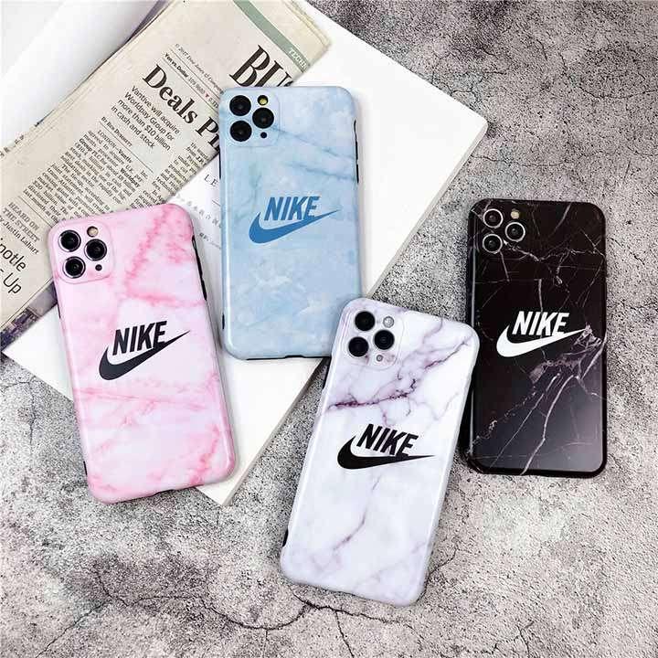 ナイキ Nikeアイフォン12pro maxケース ファッション 大理石柄 上品 iphone12proスマホケース シンプル風 定番柄 iphone12カバー 高校生愛用 代金引換
