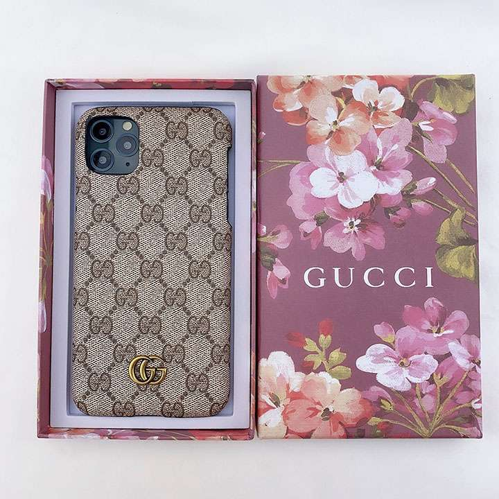 Gucci アイフォン12pro maxケース グッチ iphone12カバー 金具ロゴ柄 定番柄 iphone12proケース ブランド風 シンプル 海外販売 PUレザースマホケース