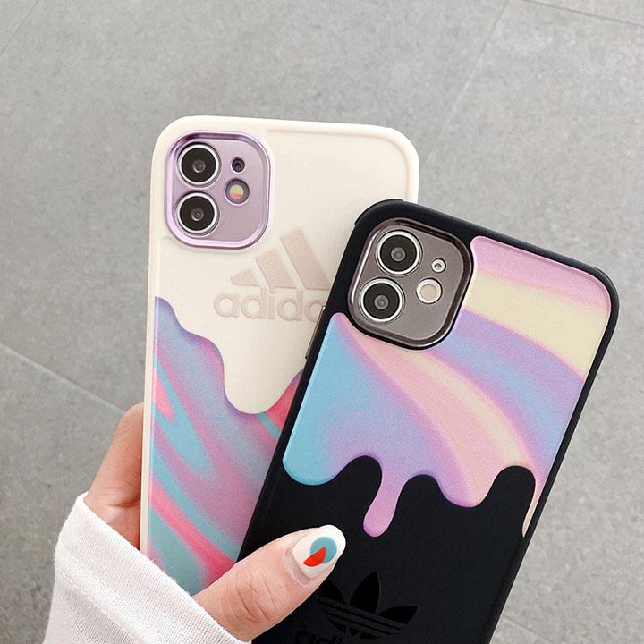 アディダス iphone12promaxケース