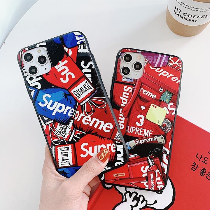 Supreme 個性 iphone12ケース