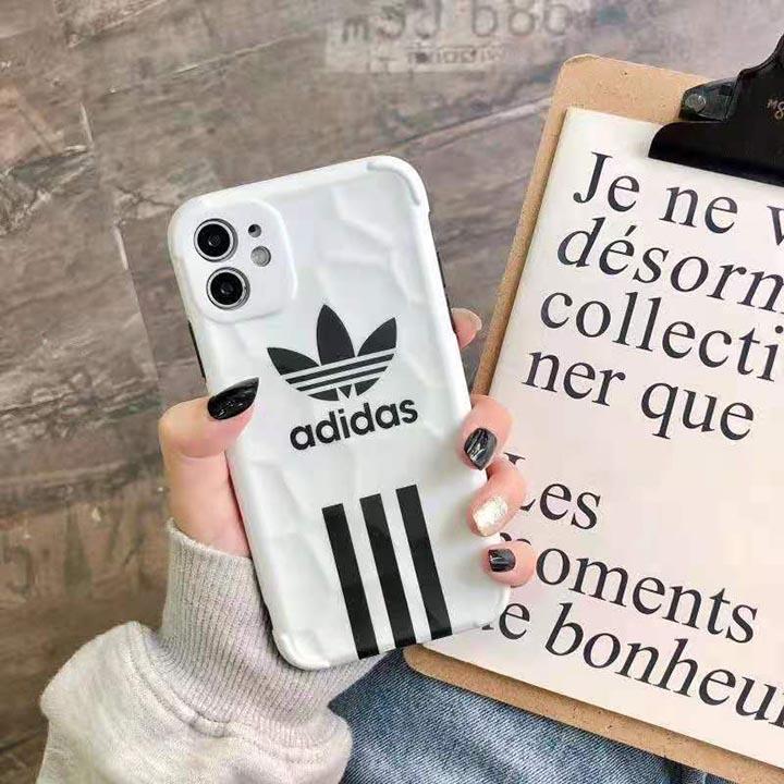 アディダス ブランド柄 iphone12携帯ケース