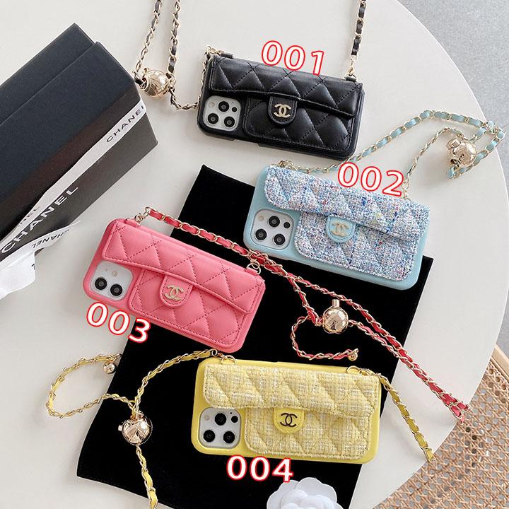 ChanelチェーンiPhone12保護ケース