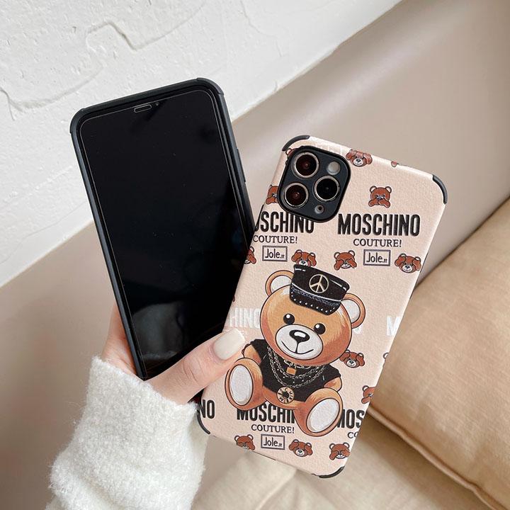 moschino iPhone 12プロマックス 送料無料 ケース