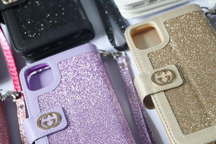 皮製Gucci保護ケースiphone12 pro/12pro max